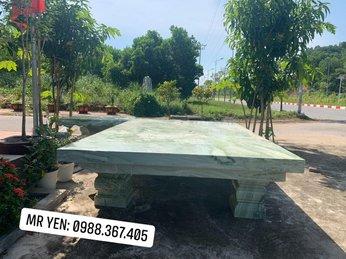 Mua bán bàn ghế đá tự nhiên nguyên khối đẹp tại Hà Tĩnh