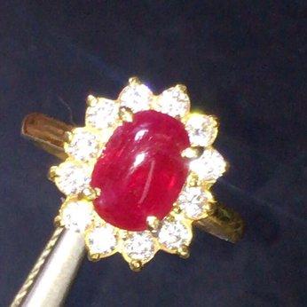 Nhẫn nữ ruby đẹp