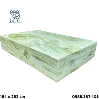 Sập đá nguyên khối Yên Bái - KT 184 x 282 cm