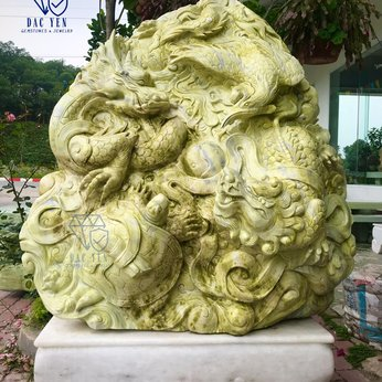 Tượng Tứ Linh Long Lân Quy Phụng - KT 130 x 138 cm