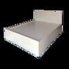 Giường Ngủ Gỗ MDF Melamine Màu Kem