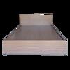 Giường Ngủ Gỗ MDF Melamine Màu Nâu
