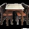 Ảnh của Bộ Bàn Ăn 6 Ghế Vân Đá Trắng