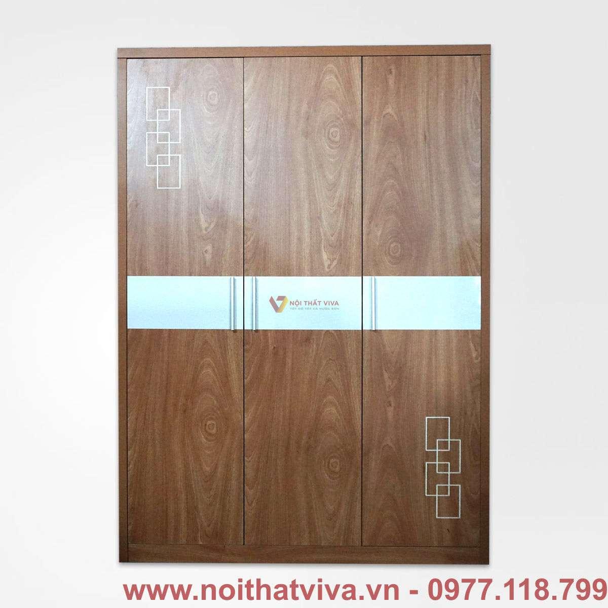 tủ áo mfc màu xoan đào hiện đại đẹp giá rẻ