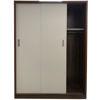 Tủ Áo Cửa Lùa 1m6 Gỗ MDF Melamine Cánh Trắng