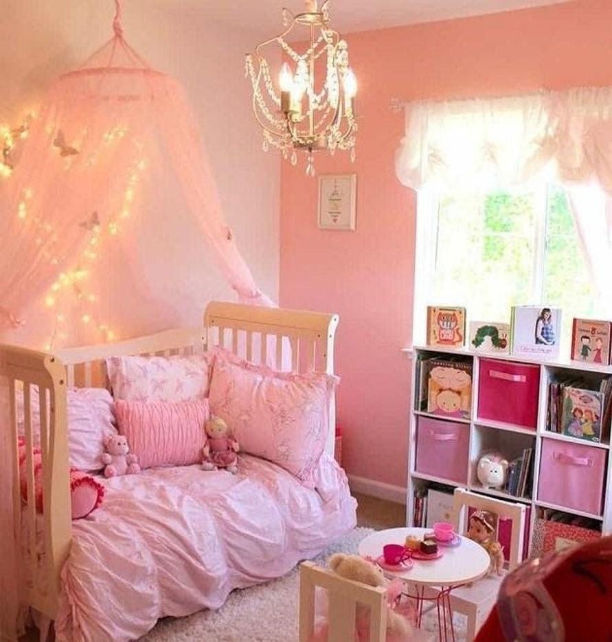 Cách trang trí phòng ngủ cho bé gái đơn giản mà đẹp