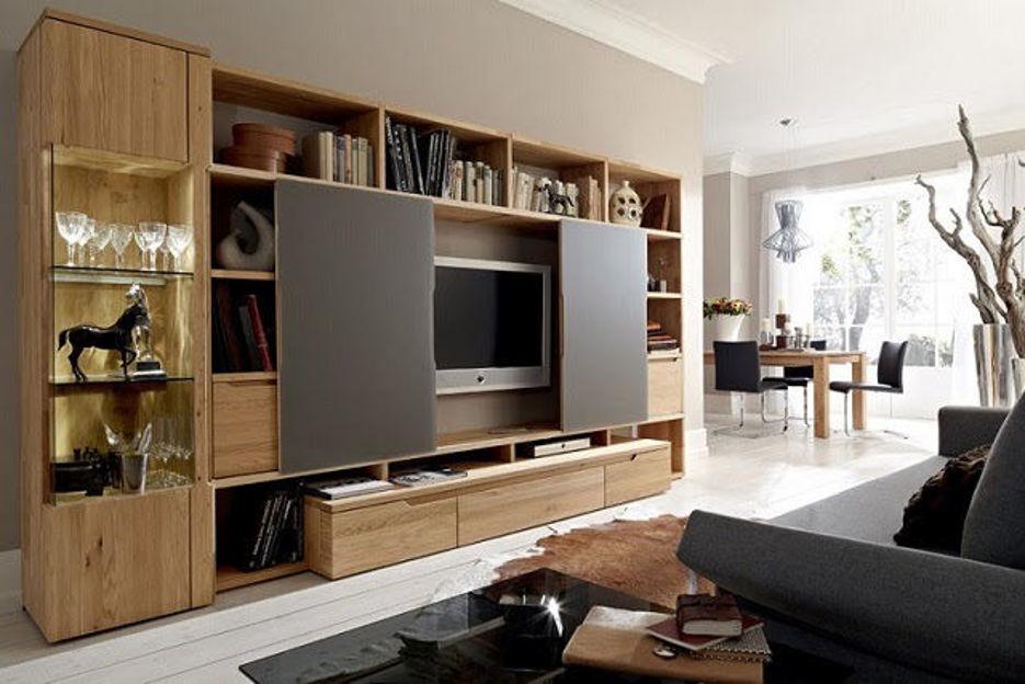 Top 5 mẫu kệ tivi phòng khách nhà ống đẹp hiện đại