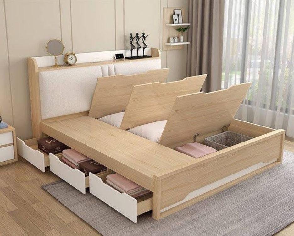 Có nên mua giường có ngăn kéo không?