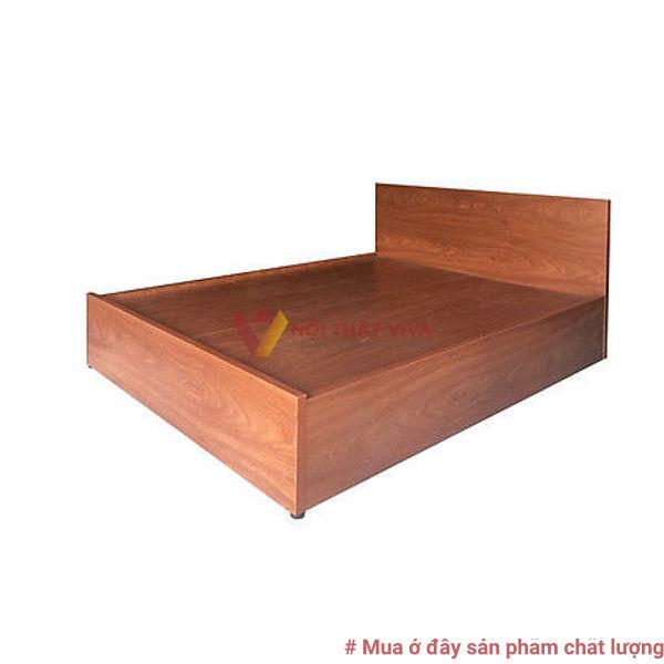 Giường Ngủ Gỗ MDF Melamine 1m6x2m Xoan Đào