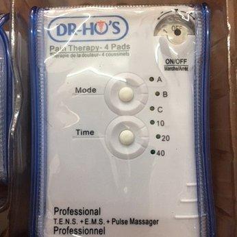 Máy massage xung điện trị liệu Dr Ho 40 phút