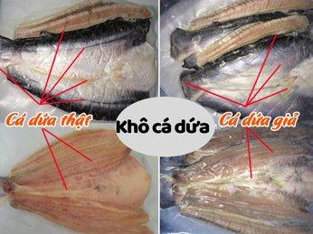 Kinh nghiệm phân biệt khô cá dứa để không mua phải hàng giả