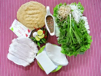Cách ăn bánh tráng Phú Yên