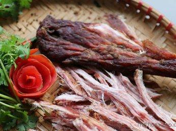 Hướng dẫn cách làm thịt Bò khô gác bếp dân tộc Thái
