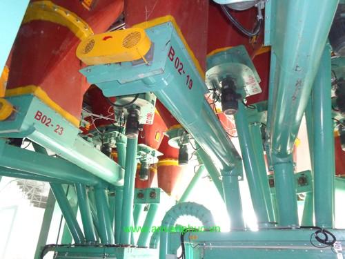 Vít tải hệ thống trộn cám