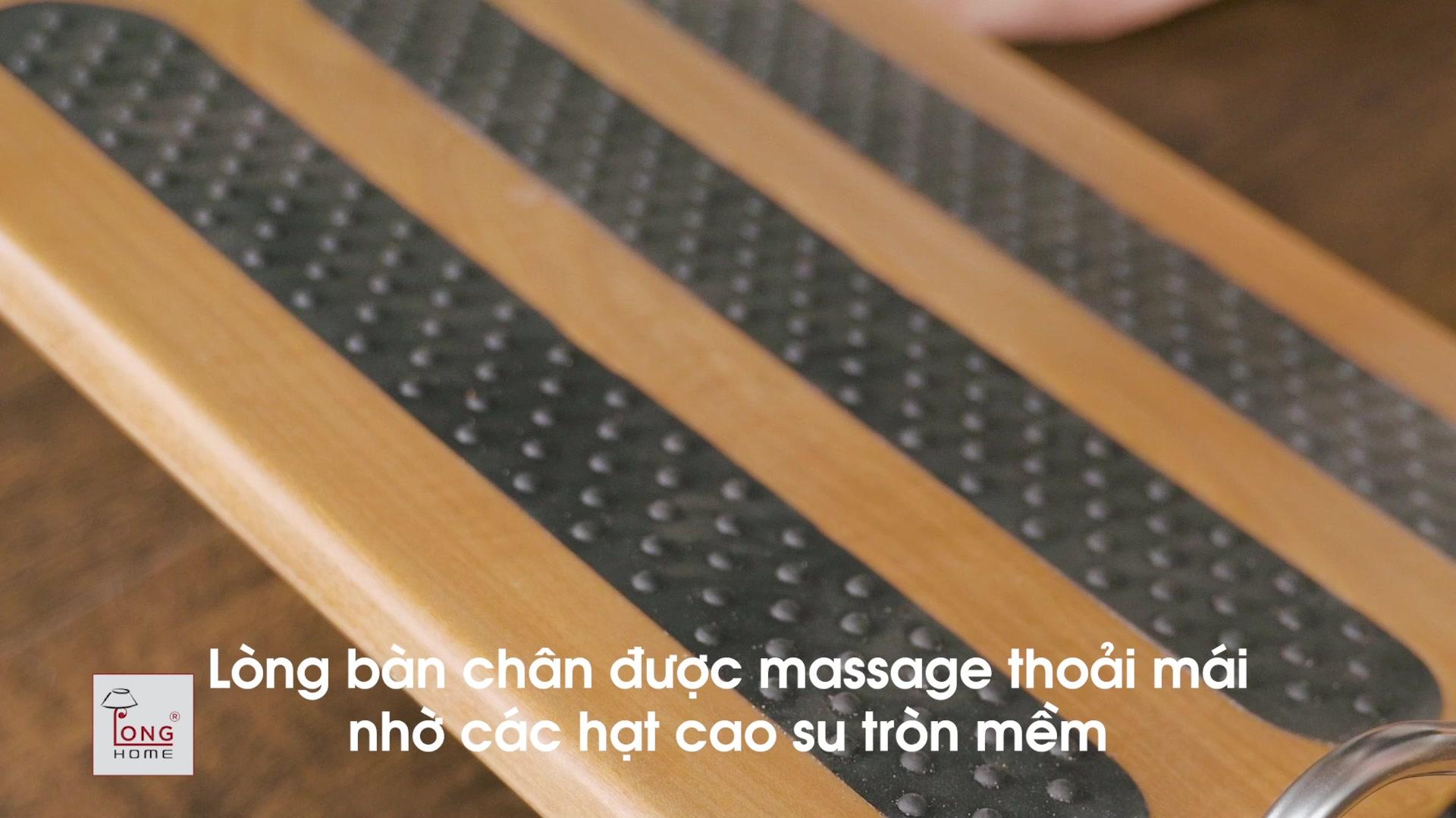 GIÁ KÊ CHÂN CÔNG THÁI HỌC - dành cho dân văn phòng để thư giãn và vận động, tốt cho sức khỏe đôi chân - FOOT ZONE RELAX FZR - 200