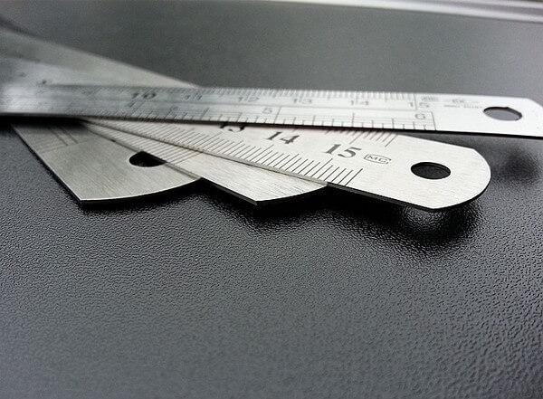 Thước Inox 50 cm Cao Cấp - Bán Dụng Cụ Làm Đồ Da Thủ Công