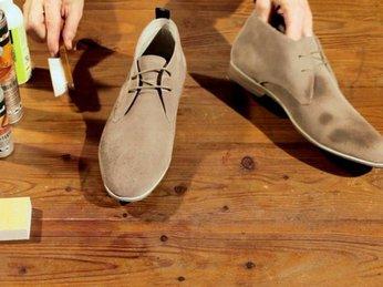 Cách vệ sinh giày da lộn bị mốc bằng những mẹo đơn giản