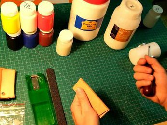 Mua dụng cụ làm đồ da handmade ở đâu?