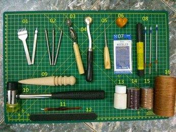 Mua dụng cụ làm túi da handmade - Một địa chỉ chuẩn bạn nên biết