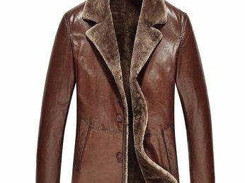 Xu hướng thời trang áo khoác da cừu cao cấp 2018.