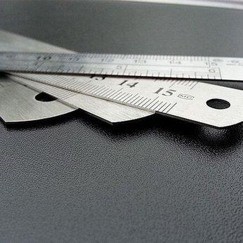 Thước Inox Cao Cấp 30 cm