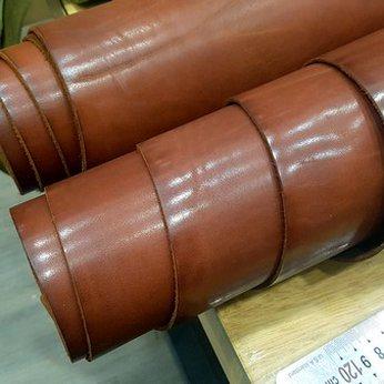 Semi veg cow leather nhập khẩu Pháp