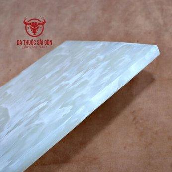 Thớt nhựa trắng - Dụng cụ handmade làm túi ví da