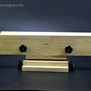 Kẹp gỗ may đồ da