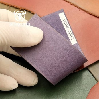 Màu nhuộm da bò màu tím phong lan (light violet)