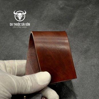 Màu nhuộm da bò màu nâu hạt dẻ (chestnut)