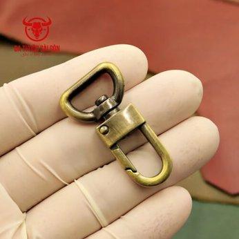 Móc chó 15mm - Phụ kiện túi xách handmade