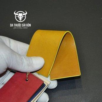 Màu nhuộm da bò màu vàng (yellow)