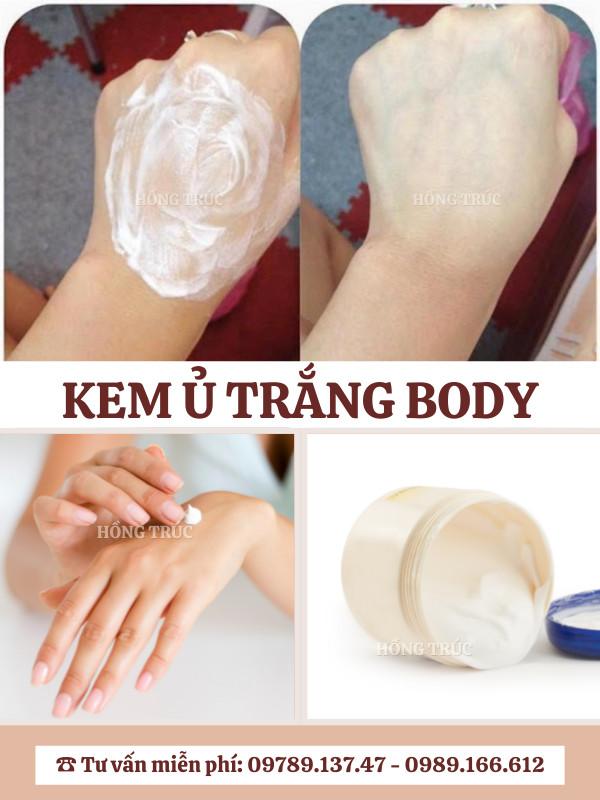 Hồng Trúc - gia công ủ trắng dành cho Body /  Face