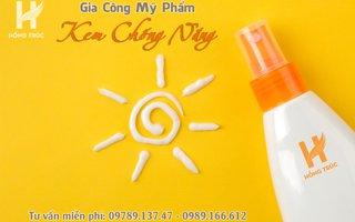 Hồng Trúc gia công kem chống nắng độc quyền