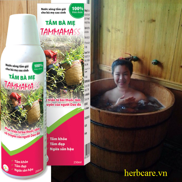 Nước tắm sau sinh của người Dao đỏ Tammama