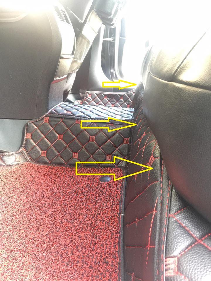 Hướng dẫn lắp đặt thảm lót sàn ô tô 6D