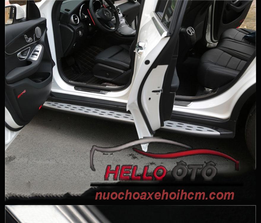 Nẹp bước chân chống trầy bên trong và bên ngoài mercedes Glc250/GLC300