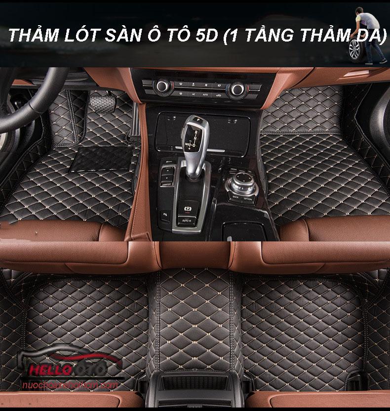 Thảm Lót Sàn Ô tô 5D 6D May Thủ Công Tại Việt Nam