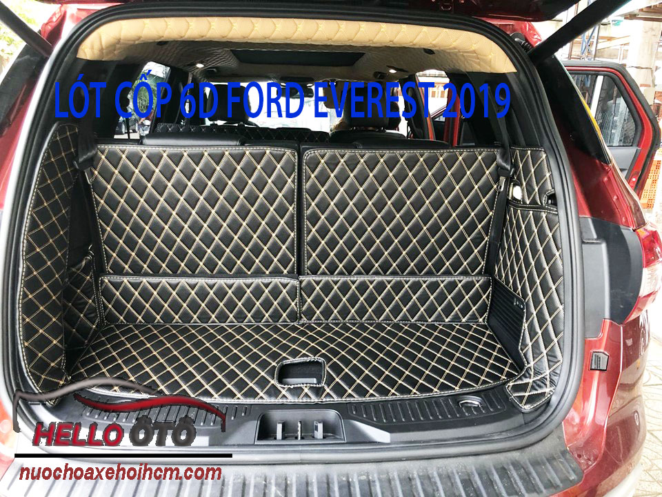 Lót Cốp 6D Ford Everest 2019