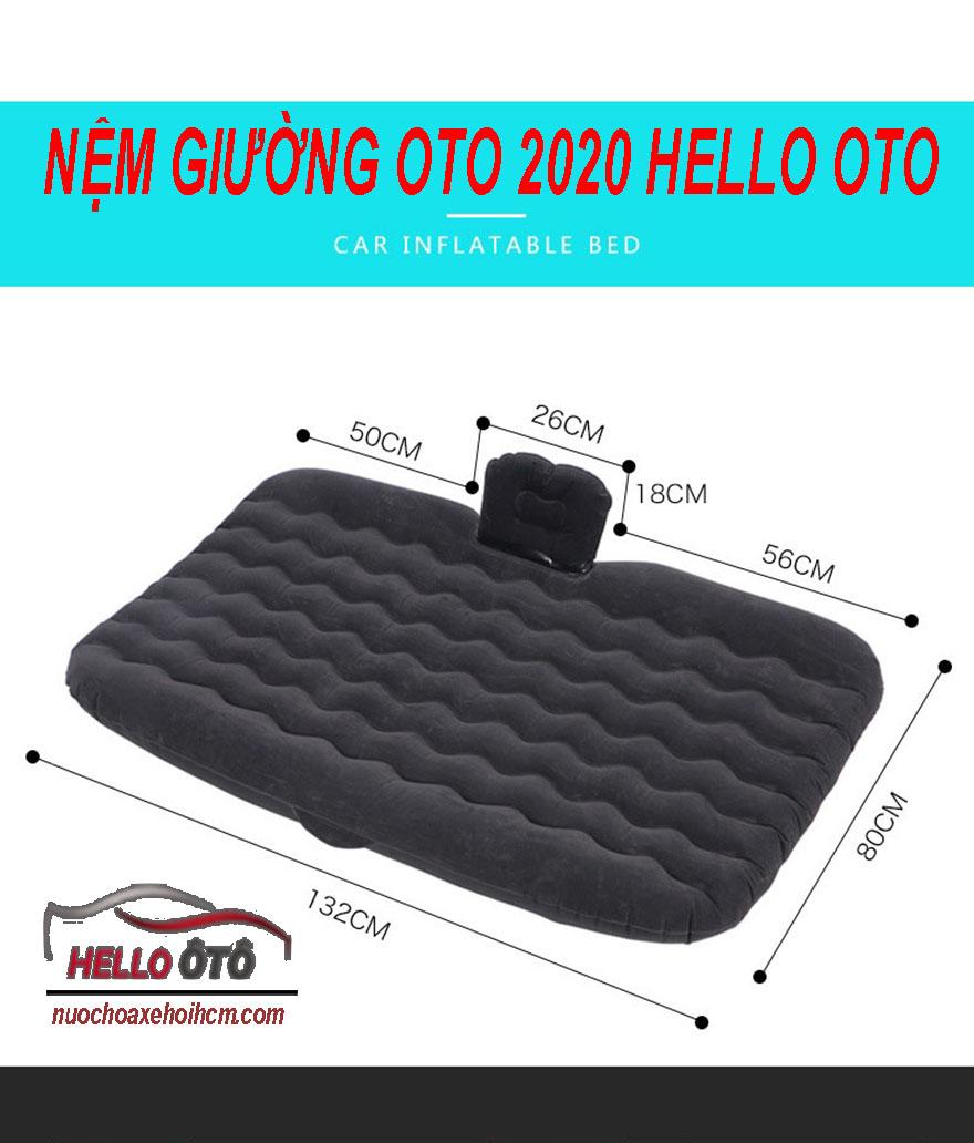 Nệm Giường Hơi Ô tô 2020 HELLO OTO