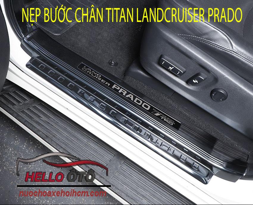 Nẹp Bước Chân Thép Titan Cacbon Landcruiser Prado