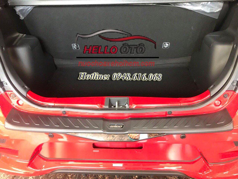 Nẹp Cốp Sau Chống Trầy Toyota Wigo
