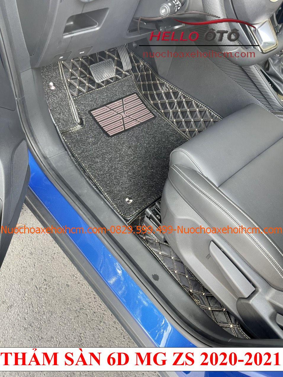 Thảm lót sàn ô tô 6D MG ZS 2020-2021