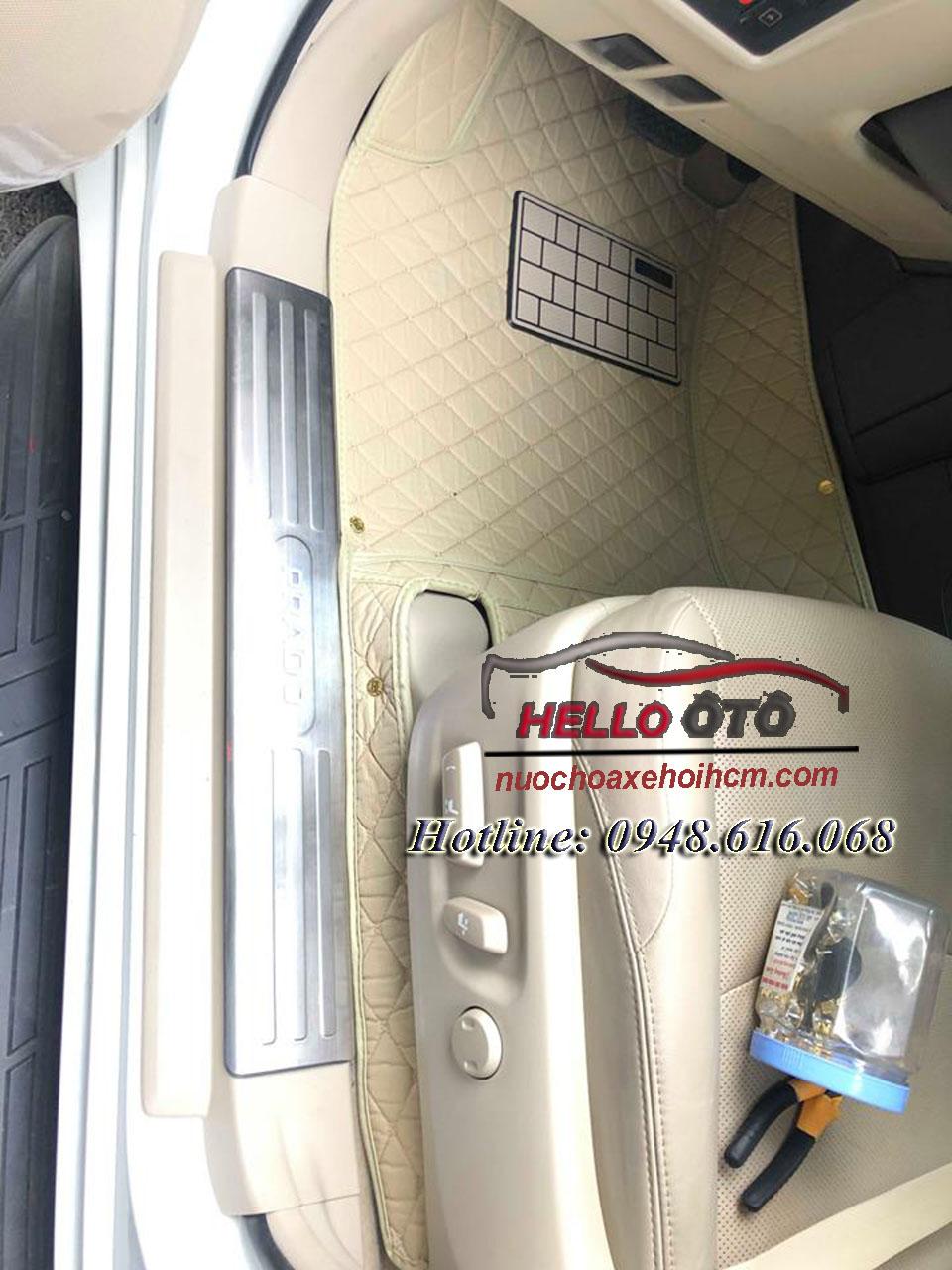 Thảm Lót Sàn Ô tô 5D Toyota Landcruiser Prado 2018