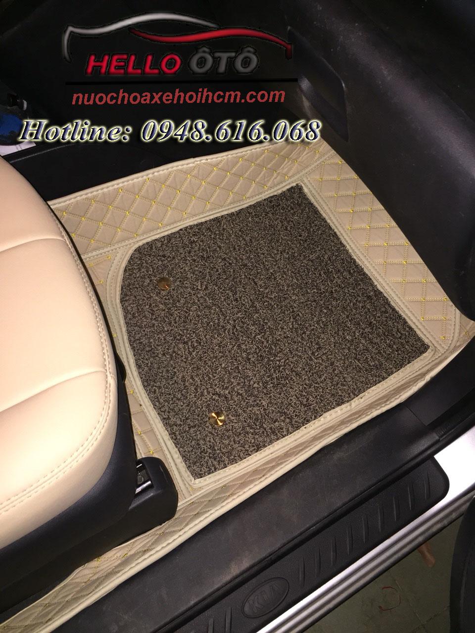 Thảm Lót Sàn ô tô 6D Kia Carens