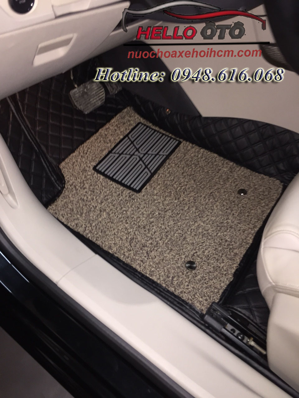 Thảm Lót Sàn Ô TÔ 6D Peugeot 508
