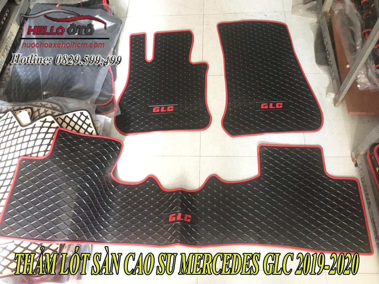 Thảm lót sàn cao su 3D Mercedes GLC series