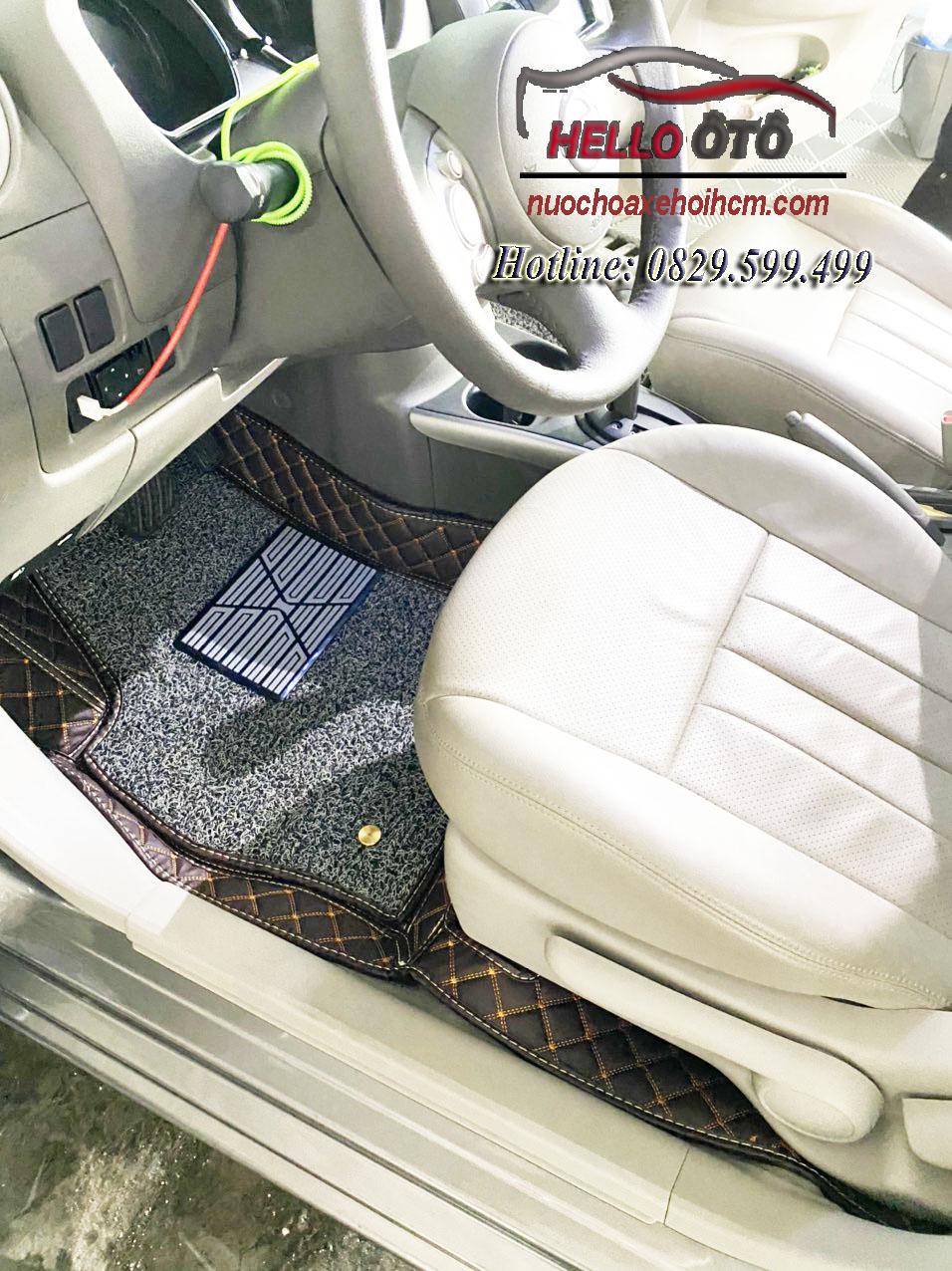 Thảm lót sàn 6D Nissan Sunny