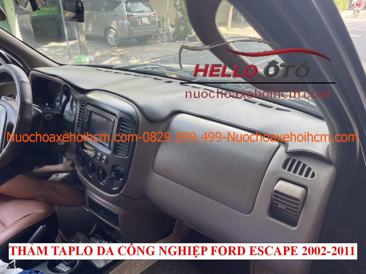 Thảm taplo Da Công nghiệp Ford Escape 2002-2011