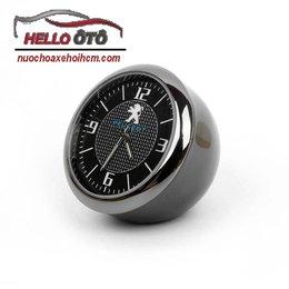 Đồng hồ trang trí xe ô tô Peugeot 2008 - Phụ kiện sang trọng và đẳng cấp